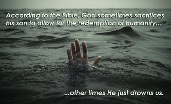 Bible Morality and a Genocidal god of Watery Death? | Damien Marie