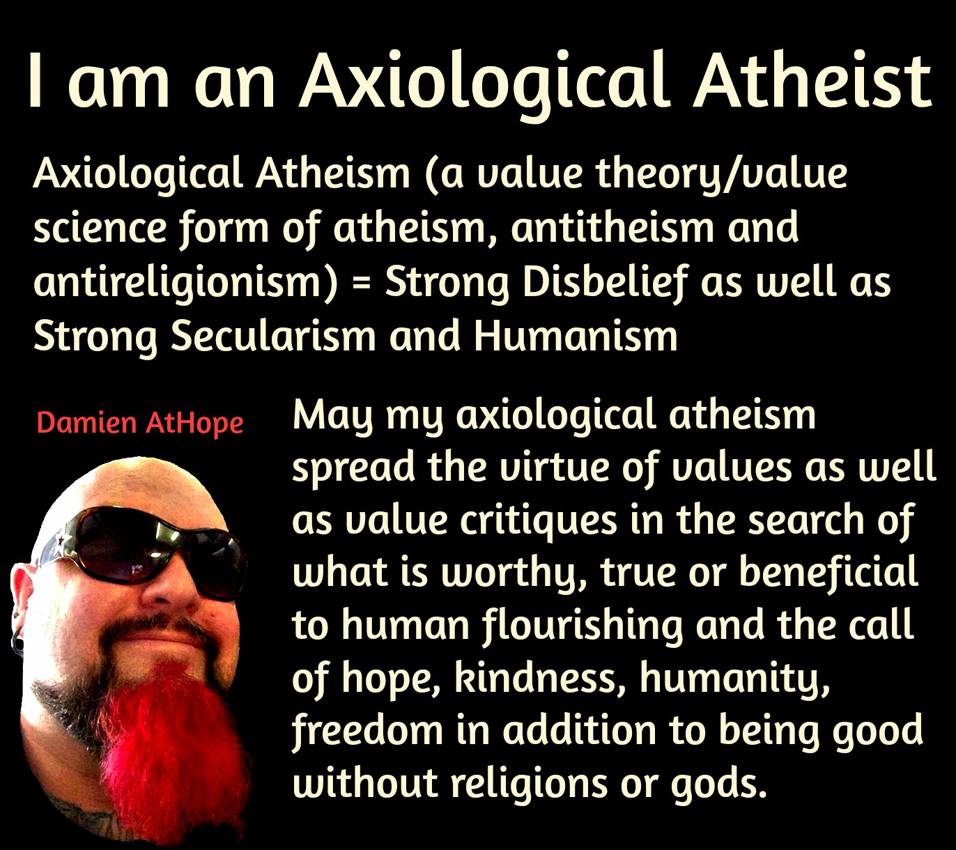 value theory value science atheism axiological atheism damien