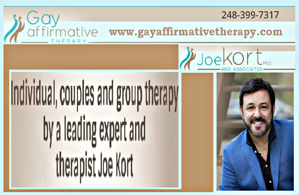 Joe Kort, PhD, LMSW from the University of Michigan Sexual Health ...